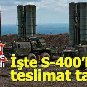 ΡΩΣΙΚΟΙ ΠΥΡΑΥΛΟΙ S-400… «ΖΗΣΕ ΜΑΗ ΜΟΥ ΝΑ ΦΑΣΤΡΙΦΥΛΛΙ»!