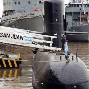 Σημεία ζωής από το πλήρωμα του υποβρυχίου της Αργεντινής πουαγνοείται