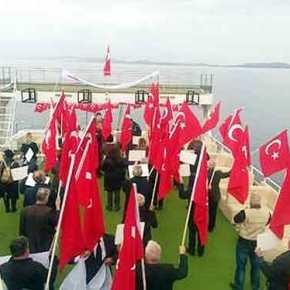 """Αρχική  ΤΟΥΡΚΙΑ Τουρκικές γελοιότητες με ΔΗΘΕΝ """"αποβάση"""" σε ελληνικήβραχονησίδα"""