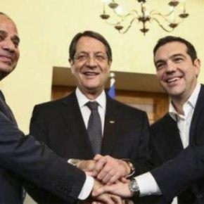 Η ΑΟΖ στο επίκεντρο της τριμερούς Ελλάδας – Κύπρου –Αιγύπτου