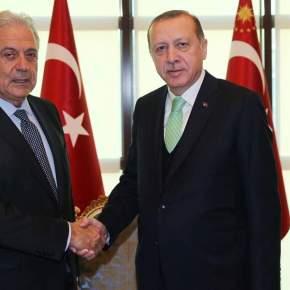 Συνάντηση Ερντογάν – Αβραμόπουλου στηνΑγκυρα
