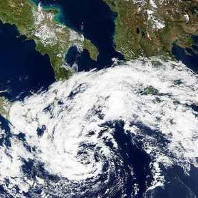 ΕΚΤΑΚΤΟ – Ξεκινάει νέο ισχυρό κύμα κακοκαιρίας – Δορυφορική εικόνα από τον κυκλώνα«Ζήνωνα»