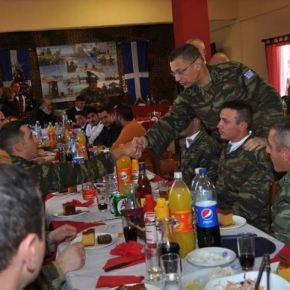 Χριστούγεννα με τους ακρίτες του Αιγαίου για τον ΑρχηγόΓΕΣ