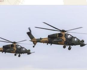 Οι τουρκικές ένοπλες δυνάμεις παρέλαβαν το 27ο εγχώριοελικόπτερο