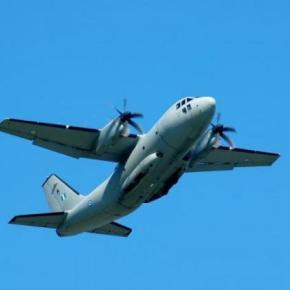 Περιπετειώδης πτήση για αεροσκάφος C27 της ΠολεμικήςΑεροπορίας