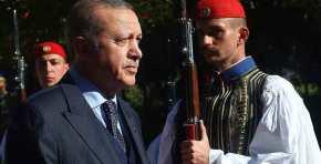 Το Άγριο βλέμμα των Ευζώνων στον Ερντογάν!(φωτό)