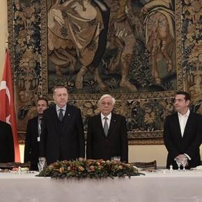 26 φωτογραφίες απο τη δεξίωση στο Προεδρικό μέγαρο προς τιμή τουΕρντογάν.