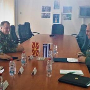 Ελλάδα – Σκόπια: Υπεγράφη το πρόγραμμα στρατιωτικήςσυνεργασίας