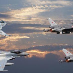 Στη Ρόδο άναψε το «Alarm » και χτύπησε το «Lock» των Τούρκων Χειριστών των F-16… Και την Κοπάνησαν!