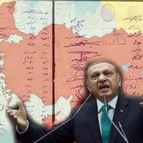 Ο Ερντογάν επανέλαβε τον Ιερό Όρκο του 1920 που προβλέπει δημοψήφισμα στηΘράκη!
