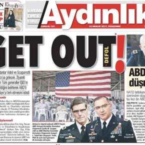 """""""Έξω οι Αμερικανοί""""! Η αντιαμερικανική υστερία Ερντογάνσυνεχίζεται!"""