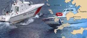 «Μίνι» ναυμαχία στην Καλόλιμνο: Τουρκικά σκάφη απείλησαν να βυθίσουν ελληνικόαλιευτικό