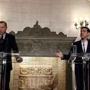 Τσίπρας σε Ερντογάν: «Η συνθήκη της Λωζάννης θεμέλιος λίθος στις σχέσειςμας»