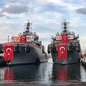Η Τουρκία παραλαμβάνει σήμερα πλοίο διάσωσης υποβρυχίων-Φωτογραφία