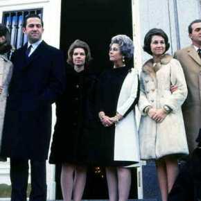 Οι πρώτες ημέρες εξορίας της βασιλικής οικογένειας στην Ρώμη τον Δεκέμβριο του 1967 (φωτό,βίντεο)