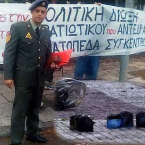 """Παρακρατικοί έβαλαν βόμβα στο σπίτι του Στρατιωτικού που αρνήθηκε να υπηρετήσει στα """"hotspots"""""""