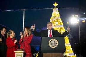 Σοκ σε ΝΤΠ – Αναψε το Χριστουγεννιάτικο δέντρο ο Ν.Τραμπ και μίλησε για τον Ιησού Χριστό: «O καθένας μας είναι παιδί του Θεού» – ΔείτεΒίντεο