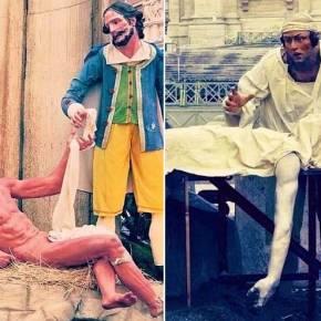 Σατανισμός, ομοφυλοφιλία και λαθρομετανάστες στην φάτνη του νεοταξίτη Πάπα Φραγκίσκου στο Βατικανό – Απίστευτεςεικόνες!
