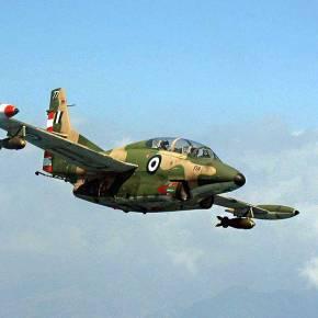 ΕΚΤΑΚΤΟ: Συνετρίβη εκπαιδευτικό αεροσκάφος Τ-2 της ΠολεμικήςΑεροπορίας