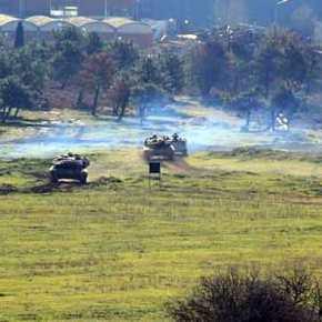 Επίθεση Αρμάτων με Πυρά εν κινήσει από την …XXV Τεθωρακισμένη Ταξιαρχία (XXVΤΘΤ