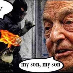 Αναρχικοί αντιφασίστες απαιτούν τα χρήματα που τους οφείλει ο Σόρος για τις «αυθόρμητες» επαναστάσεις που τους ανέθεσε!!!