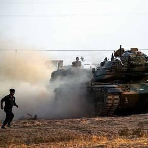 O Τουρκικός στρατός εισέβαλε στην Αφρίν – «Εδώ θα γίνει ο τάφος σας», φωνάζουν οιΚούρδοι