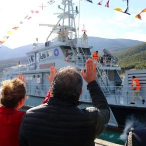 Αλλαγή φρουράς στο Αιγαίο από το αλβανικόναυτικό