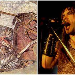 Το τραγούδι των Iron Maiden για τον Μέγα Αλέξανδρο και τονελληνισμό.