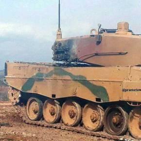ΕΚΤΑΚΤΟ! Πανωλεθρία: Τρία τουρκικά άρματα μάχης «άναψαν σαν λαμπάδα» – Οι Κούρδοι «θερίζουν» τον στρατό τουΕρντογάν