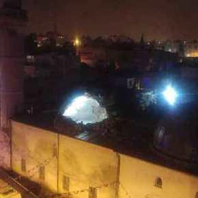 Oλονύχτια κόλαση πυρών Τουρκίας-Κούρδων: Επληξαν τέμενος εντός τουρκικούεδάφους