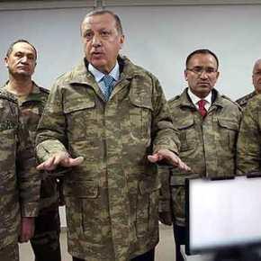 Με εμφάνιση… Καμμένου και έντονα ανήσυχος ο Ερντογάν στο στρατηγείο των επιχειρήσεων τουΑφρίν