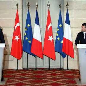 «Εγκεφαλικά» ο «Σουλτάνος» – Ο Μακρόν έκλεισε την πόρτα της ΕΕ στηνΤουρκία