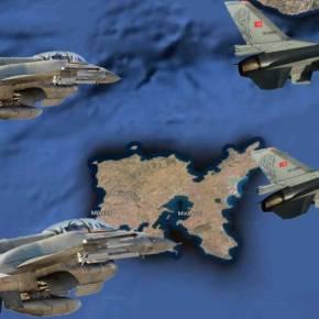 Τουρκικά οπλισμένα F-16 συνεχίζουν να προκαλούν στοΑιγαίο