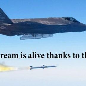 Βγαίνουν από την γραμμή παραγωγής τα πρώτα τουρκικά F-35 – Οδεύουν προς Τουρκία εξοπλισμένα με υπερ-πύραυλοαέρος-αέρος