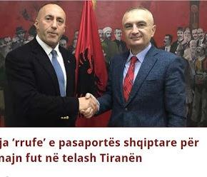 Δυσαρέσκεια ΗΠΑ για το αλβανικό διαβατήριο του πρωθυπουργού τουΚοσόβου