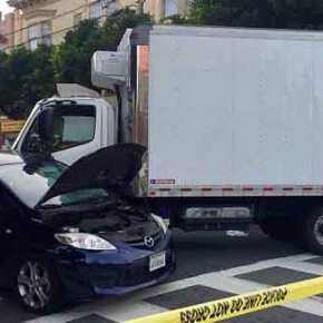 Φορτηγό έπεσε σε πεζούς και αυτοκίνητα στον Σαν Φρανσίσκο-Τουλάχιστον 7 τραυματίες[βίντεο]