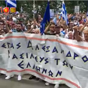 Ακόμα τρέχουν – Οι Έλληνες της Μελβούρνης τσάκισαν στο ξύλο τους Σκοπιανούς!(βίντεο)