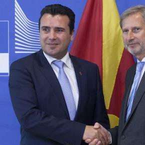 Ζόραν Ζάεφ- Γιόχαννες Χαν: Η συνάντηση με τον Τσίπρα καλή είδηση για τη χώρα την περιοχή και τηνΕΕ