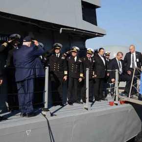 ΕΚΤΑΚΤΟ – Στο Αρχηγείο Στόλου ο πρόεδρος του Ισραήλ με πολεμικό μήνυμα: Η Τουρκία σε απόσταση βολής από ισραηλινάπλοία