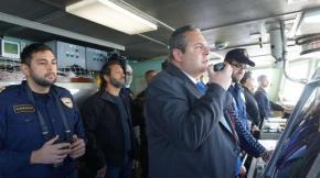 Ελληνοτουρκική «ναυμαχία» στα Ίμια: Ο Καμμένος καταθέτει στεφάνι και οι Τούρκοιπροκαλούν
