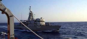 Βίντεο: Η στιγμή που το σκάφος της τουρκικής ακτοφυλακής ακουμπά την κανονιοφόρο«Νικηφόρος»