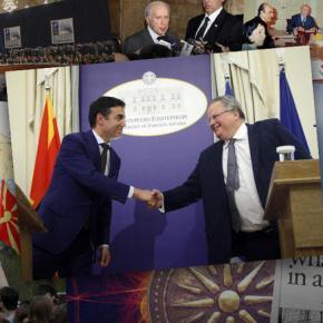 Οι σταθμοί στην ιστορία του Σκοπιανού από το 1991 μέχρι σήμερα  Σε διπλωματικό επίπεδο αρχίζει νέος γύρος επαφών ανάμεσα στην Ελλάδα και τηνΠΓΔΜ.