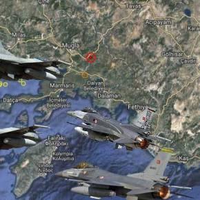 Η Επίδειξη Κυριαρχίας απο Τούρκικα F-16 …Έφερε Αερομαχία ΝΑ τηςΡόδου!