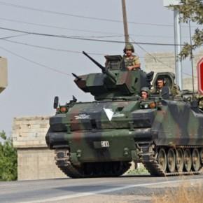 Τουρκικές χερσαίες δυνάμεις μπήκαν στηΣυρία