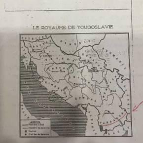 Καμμένος: Ανάρτησε χάρτη του 1937 με τα Σκόπια ως «Βαρντάσκα» στοTwitter