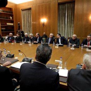 Συνεδριάζει το Υπουργικό Συμβούλιο για το ν/σ με ταπροαπαιτούμενα