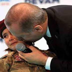 Είναι Ψυχοπαθής Ο Ερντογάν; Δείτε Τι Είπε Στο Κοριτσάκι Που Έκλαιγε Για Τον Πόλεμο(ΦΩΤΟ+ΒΙΝΤΕΟ)