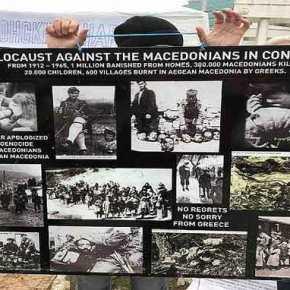 ΑΡΧΙΣΑΝ ΤΙΣ ΔΙΕΚΔΙΚΗΣΕΙΣ: Σκοπιανοί Μαζεύουν Υπογραφές Για Να Αναγνωριστεί Γενοκτονία Από Την Ελλάδα(ΦΩΤΟ+ΒΙΝΤΕΟ)