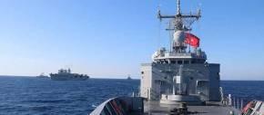 Κύπρος: Τουρκικά πολεμικά σκάφη έδιωξαν ρωσικό πλοίο – Το Ισραήλ με αεροσκάφος ELINT παρακολουθεί τον τουρκικόΣτόλο
