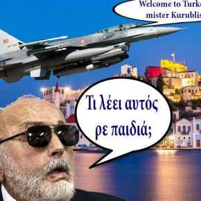 Έτσι μπλόκαραν τον Κουρουμπλή οι Τούρκοι – Αερομαχίες με Έλληνες πιλότους πάνω από τηνΣτρογγύλη